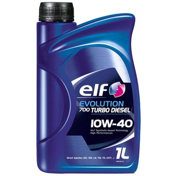 promotie la Elf evolution 700 turbo diesel 10w40 1l